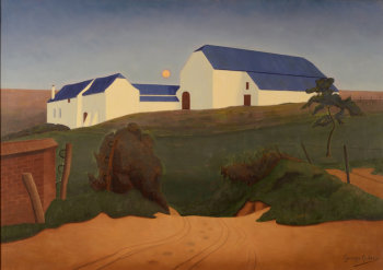 Georges Latinis The farm road 1930's