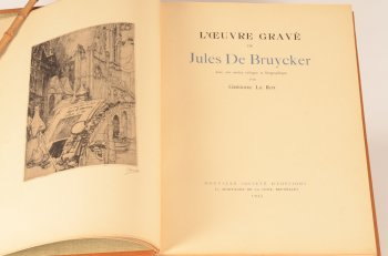 Gregoire Le Roy Catalogue Raisonne of Jules De Bruycker