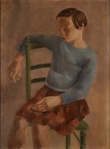 Robert Liard sitting girl