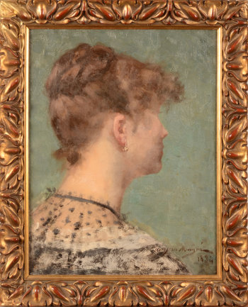 Jean Mayne Portrait portrait of a woman 1884
