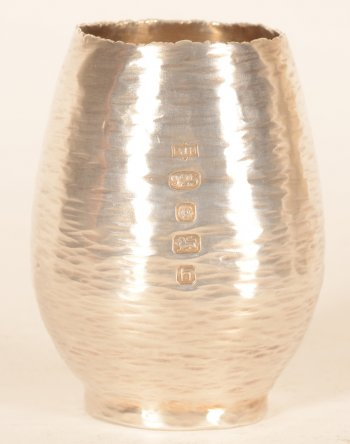Philippa Jane Merriman small sterling vase 2007