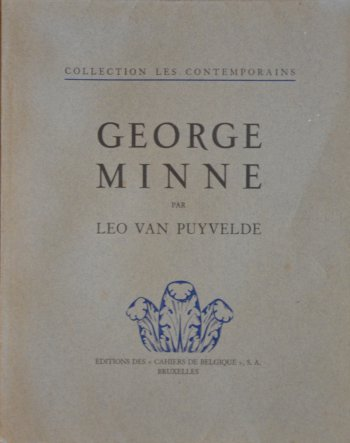 George Minne Book Van Puyvelde 1930