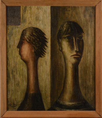 Jan Mulder Two Heads or Couple