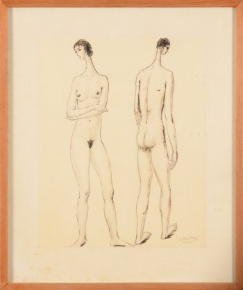 ​Jan Mulder nude couple