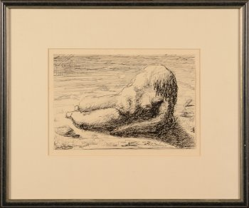 ​Jan Mulder figure on the beach II