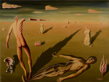 Jan Mulder surrealist dreamscape