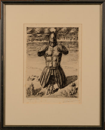 ​Jan Mulder Triumph of Mars drawing