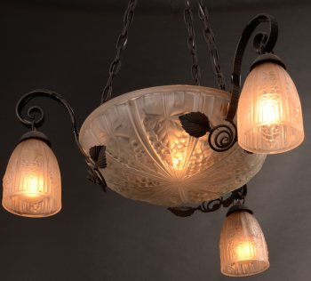 Müller Frères ceiling lamp