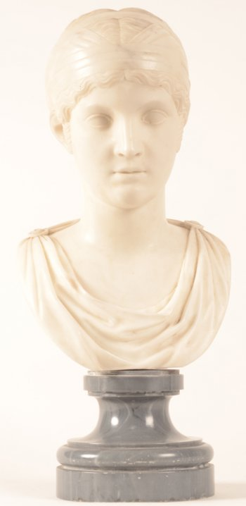 Neo classical bust
