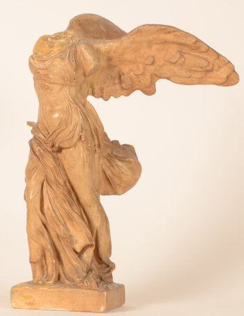 Niké of Samothrace plaster cast