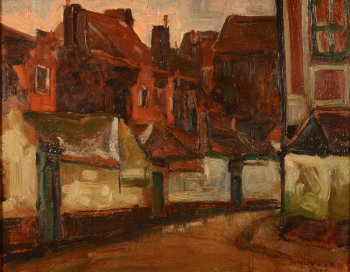 Henri Nuyttens the Beguinage in Gent