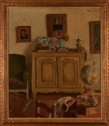Gaston Pauwels interior with globe