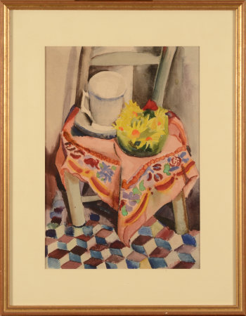 Olivier Picard still life with chair