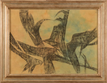 Emile Poetou abstract composition