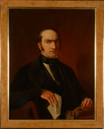 Portrait of a Tobacco merchant 1848