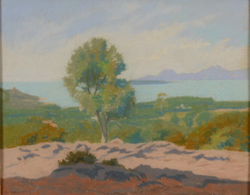 Georges Ritleng landscape near the coast