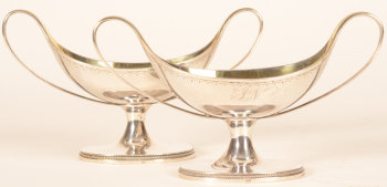 Felix Roelants a pair of silver salts