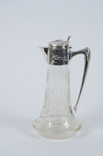 Art nouveau ewer for the Russian market