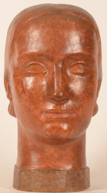 ​Leon Sarteel Head of the Woman of Today ca. 1935