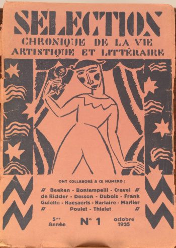 Sélection October 1925 issue