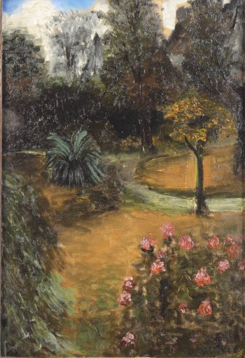 Albert Servaes garden 1916