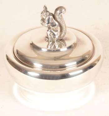 Silver squirrel box