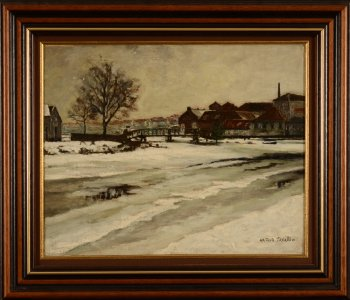Arthur Willaert City in snow