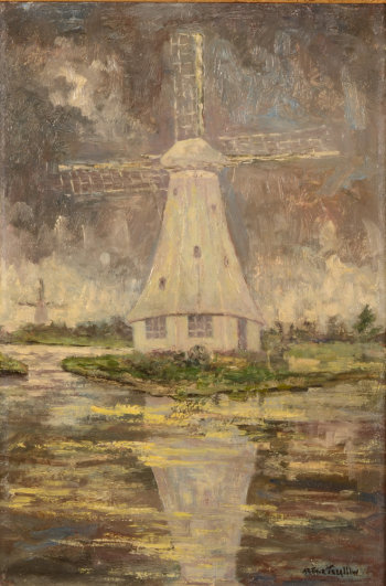 Arthur Trealliw The White Windmill
