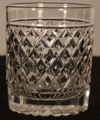 Crystal whiskey glass 104 mm