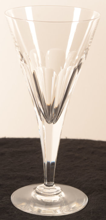 Val Saint-Lambert conical art deco glass 196 mm