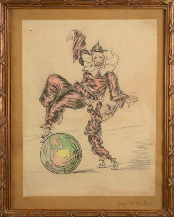 Georges Van der Straeten First World War caricature