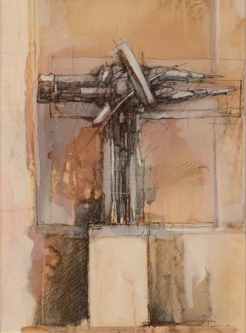 Paul Van Gysegem study for a sculpture