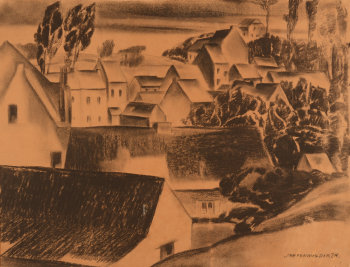 Jan Van Malderen village view