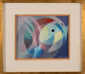 Amand Vereecke abstract fish