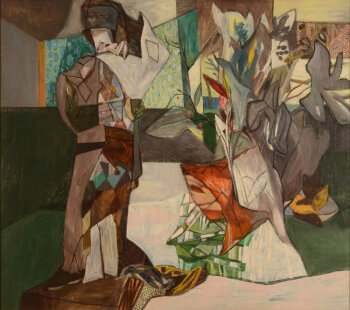 Pierre Vlerick The Harlequin & The Flowers 1957-58