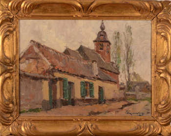 Victor Wagemaekers village view of Beigem