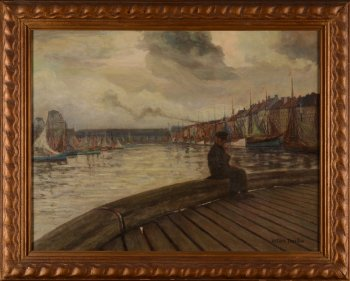 Arthur Willaert Estacade au port