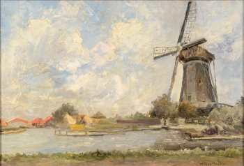 Arthur Willaert the Schiedam windmill