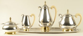 Wolfers Freres S.A. Belvedere Coffee and Tea Set