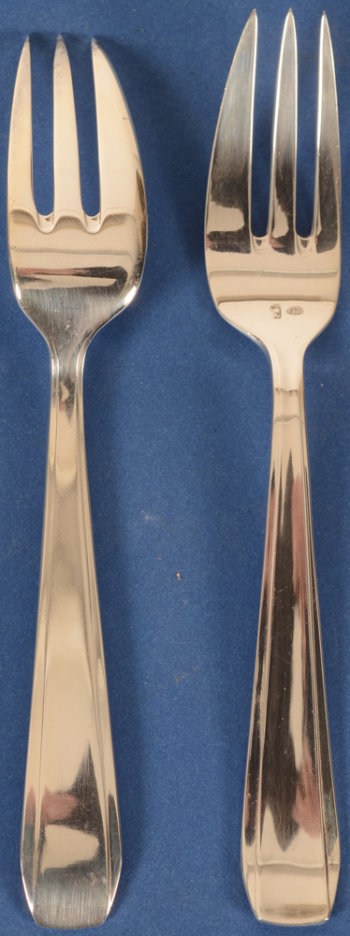 Wolfers Frères 240 Chambord cake forks