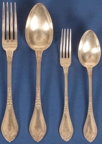 Wolfers Frères model 205 Empire cutlery set