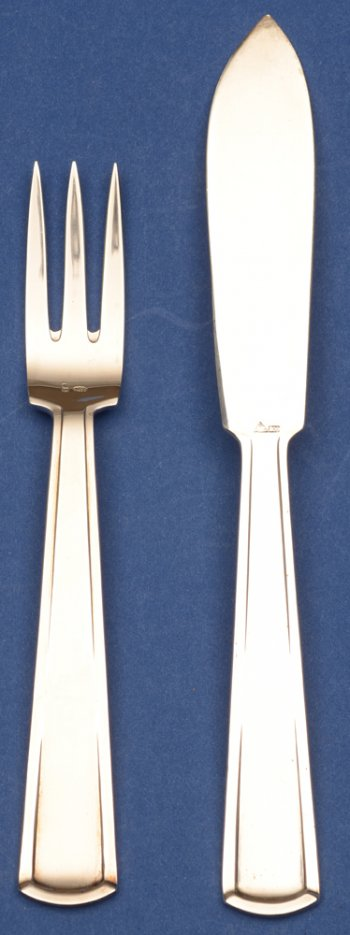 Wolfers Freres Vizir Fish fork and knife
