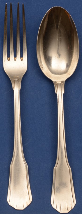 Wolfers 233 Moderne fork and spoon