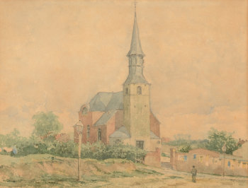 Rodolphe Wytsman Etterbeek Church
